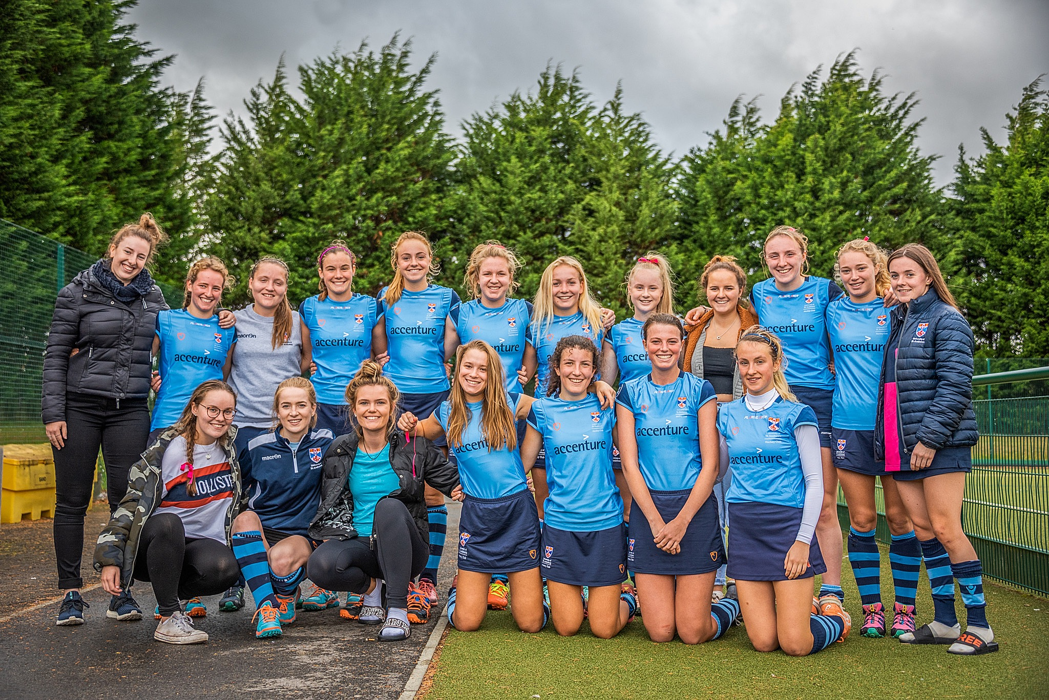 Women's 1st team photo